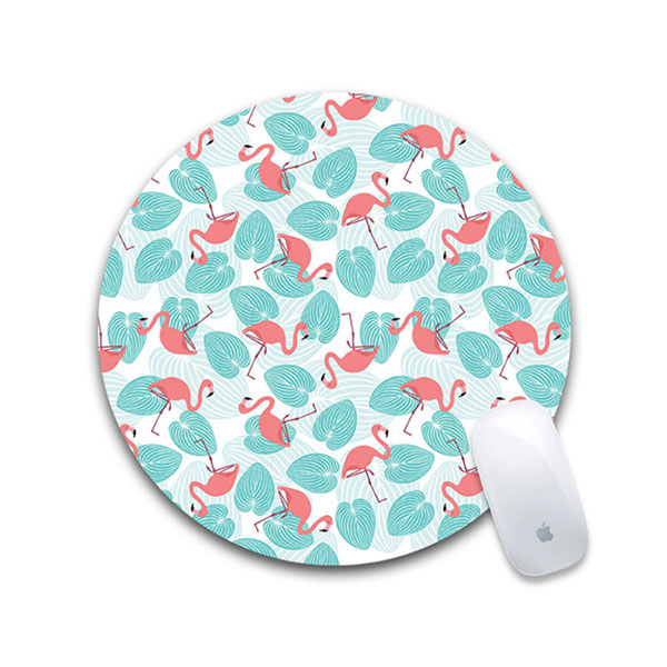 New Good Quality Sublimation Blank Printable Round Mouse Pad