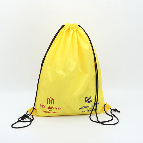 Polyester cloth drawstring laundry bag,custom string bags