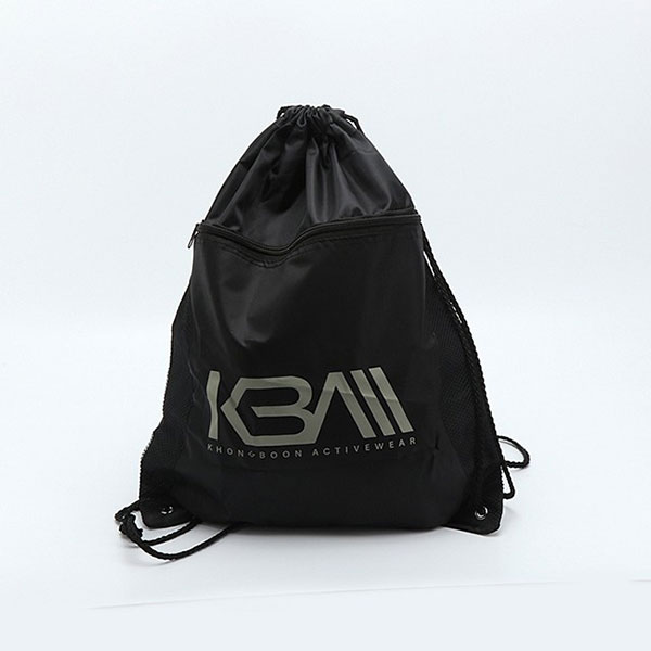 Custom waterproof 210T nylon drawstring backpack bag