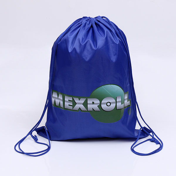 Custom printed polyester drawstring sports bag,printed drawstring bag