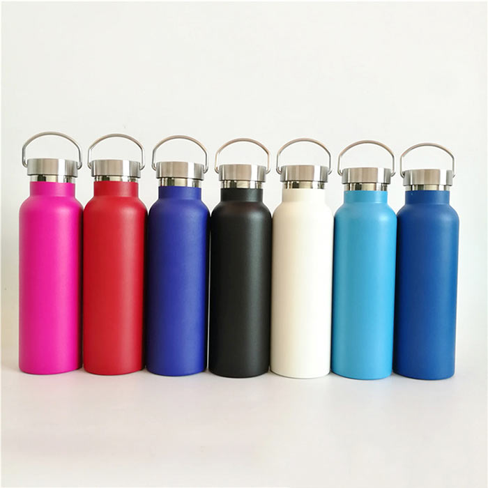 Wholesale Double Wall Vacuum Insulated Stainless Steel Gym Sports Water Bottle